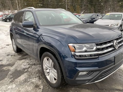 New 2019 Volkswagen Atlas w/Technology and 4Motion AWD 4D Sport Utility