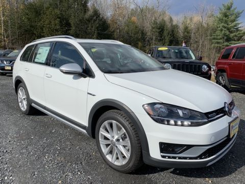 New 2019 Volkswagen Golf Alltrack 4Motion AWD 4D Wagon